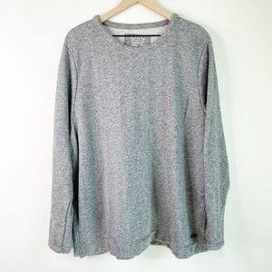 MARC NEW YORK Gray Sparkle Sweatshirt 3X